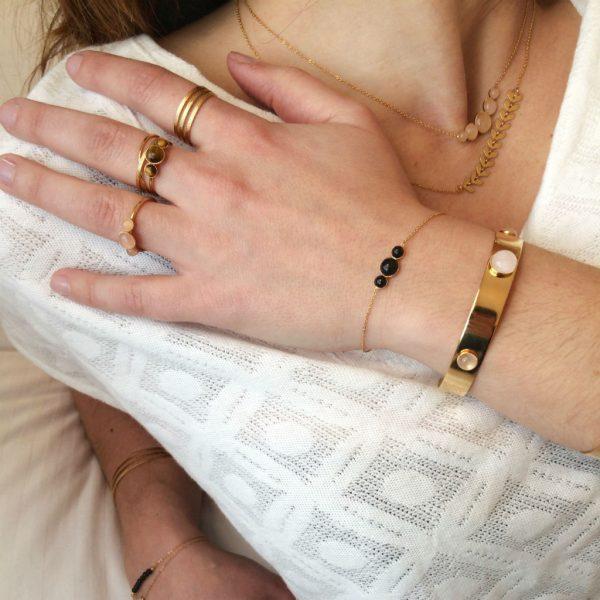 Dyane porte la collection Astrée, Paloma et Gaby