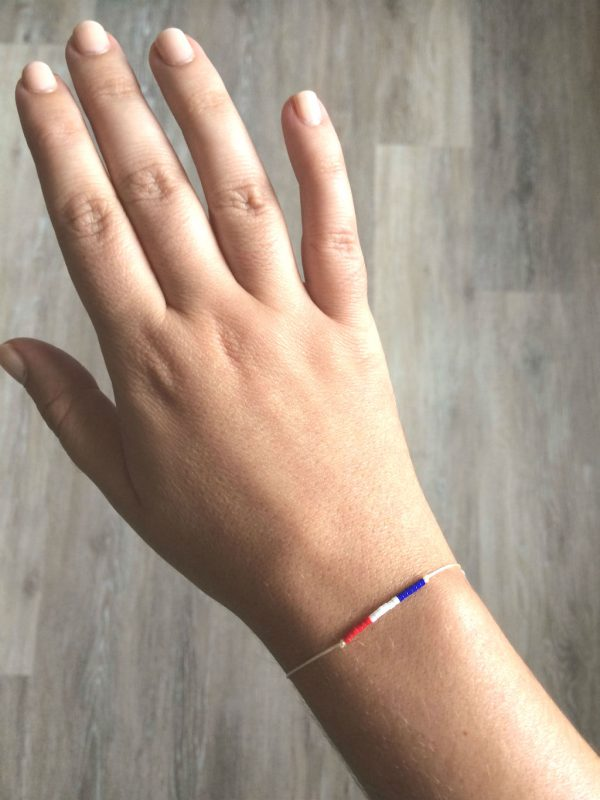 Bracelet France pour la coupe du monde de football