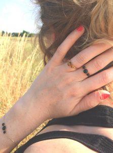 bagues et bracelet Astrée