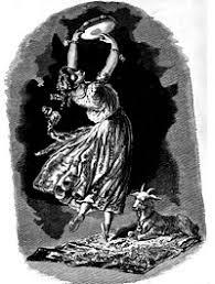 illustation Esméralda, la bohème
